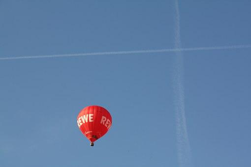 Balloon, Hot Air, Hot Air Balloons, Sky, Travel, Basket