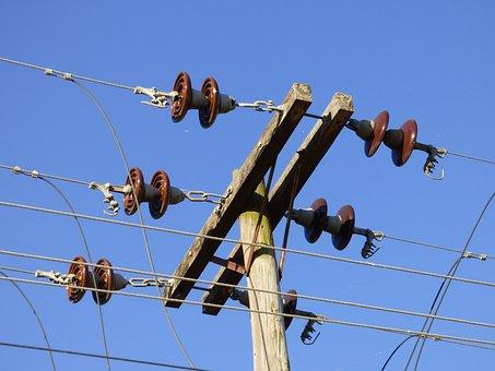 Insulators, Hv, Electricity, Power Lines