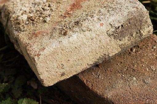 Bricks, Construction Site, Ground, Industry, Production