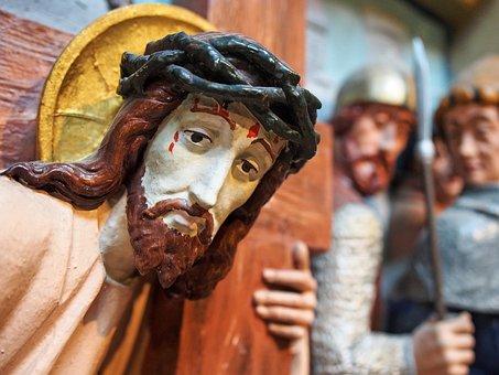 Christ, Jesus, Cross, Station, Station Of The Cross