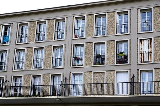 Facade, Home, Le Havre, Architecture
