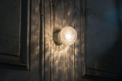 Lamp, Entrance, Pattern, Light, Riddle, Fear, Story