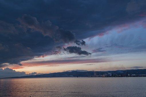 Landscape, Twilight, Turkey, Reflection, Love, Light