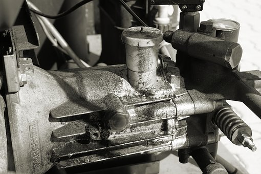 Machine, Compressor, Dirty, Tool, Technology, Work