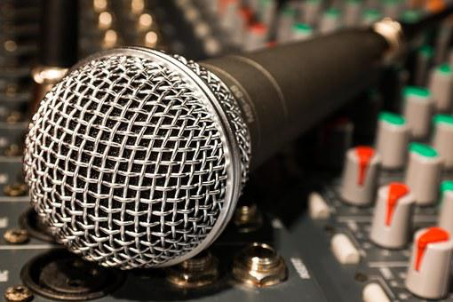 Microphone, Mixer, Cable, Microphone Cable, Singing