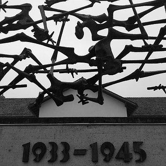 Monument, Concentration Camp, Germany, Dachau, War