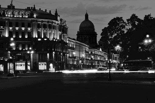 Russia, Saint-petersburg, Architecture, Petersburg