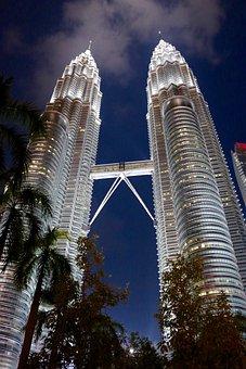 Petronas, Towers, Malaysia, Architecture, Building