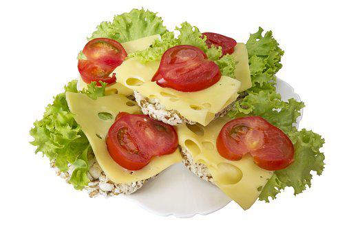 A Sandwich, Small Load Of Bread, Wholewheat, Cheese