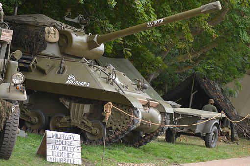 Tank, Vintage, Ww2, World War Two, Retro, Old, Industry