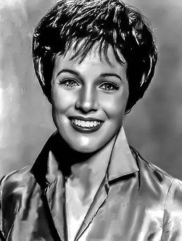 Julie Andrews-female, Portrait, Hollywood, Actress