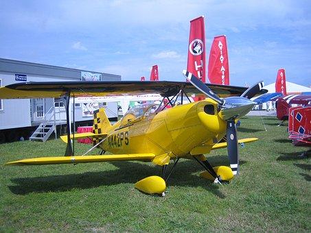 Airplane, Vintage, History, Aviation, Aviat Aircraft
