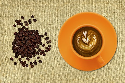 Coffee, Cup And Saucer, Black Coffee