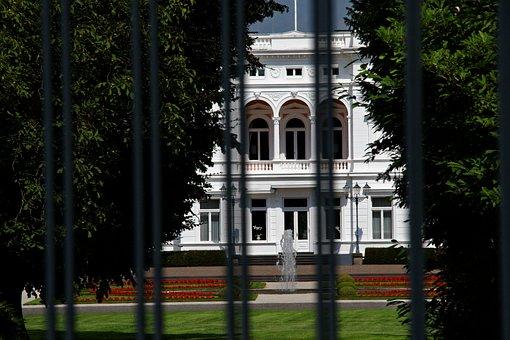 Bonn, Villa, Home, Building, Architecture, Manor House