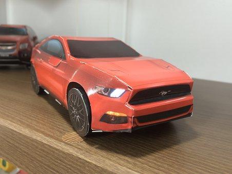 Murs Teng, Car, Paper Toy