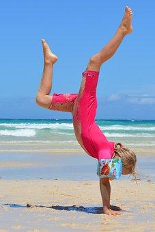 Child, People, Girl, Sea, Ocean, Uv-resistant Clothing
