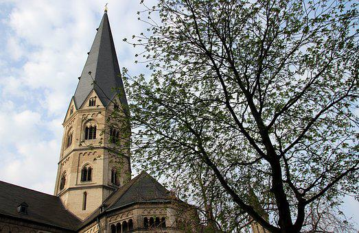 Bonn, Places Of Interest, City, Münster, Church, Tower