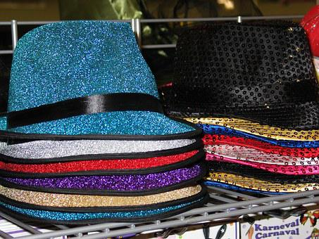 Carnival, Carnival Hat, Hat, Glitter, Sparkle, Costume