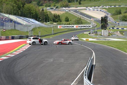 Car Racing, Crash, Accident, Safety Car