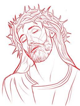 Jesus, Crown, Thorns, Religion, Religious, Christ, God