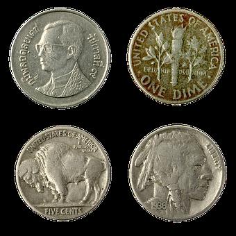 Rupee, Dime, Cent, Currency, Coin, Cash Money, Finances