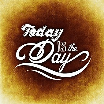 Day, Beautiful, Today, Cheerful, Of Enthusiasm