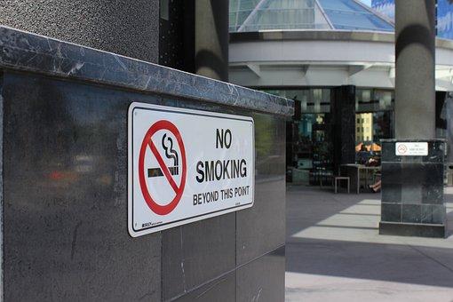 No Smoking, Don't Smoke, No Smoking Sign