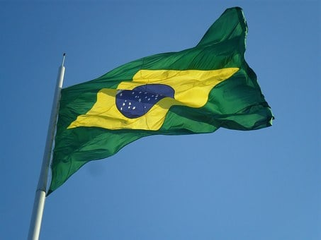 Brazil, Flag, Green And Yellow, Independence Day