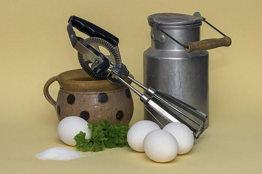 Milk, Egg, Agitator, Eat, Scrambled Eggs, Food, Cook