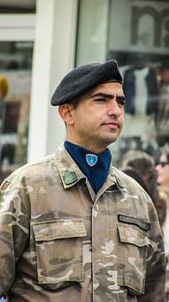 Greek Independence Day, Parade, Military, Officer