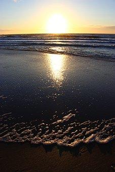 Cadzand-bad, Netherlands, Holland, North Sea, Beach