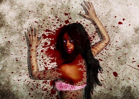 Blood, Splatter, Horror, Halloween, Stain, Grunge