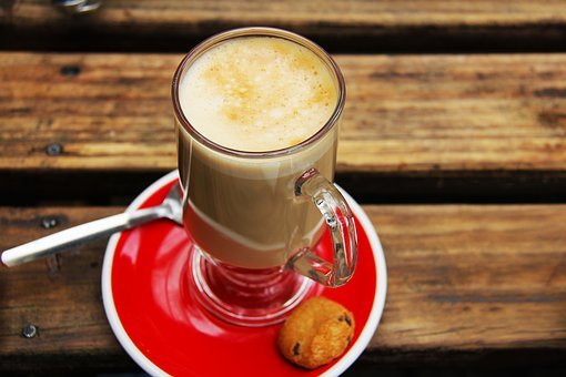 Flat White, Red, Biscuit, Milk, Tea, Coffee, Lunch