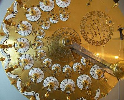 Germany, Bonn, Museum, Calculator, Machine