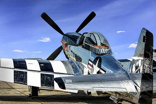 Plane, Aircraft, Military, P-51, Fighter, Aviation