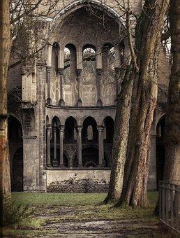 Monastery, Ruin, Heisterbach, Bonn