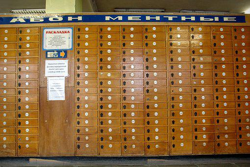 Russia, Post Office, P O Box, Post, Old