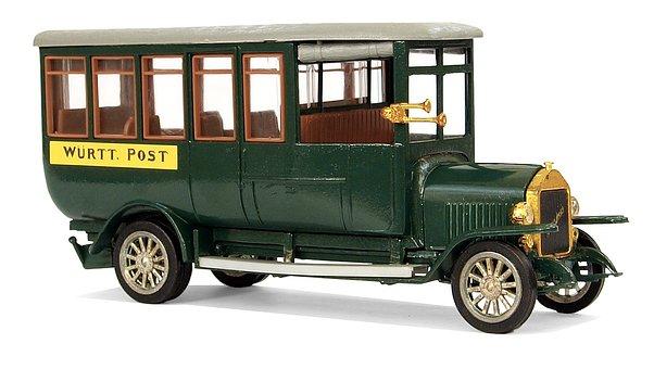 Magirus, Type 2c-v110, 1919, Oldtimer, Model Buses