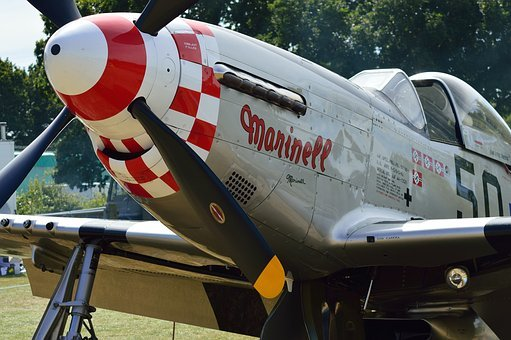 P51 Mustang, Plane, Fighter Plane, Aircraft, P51