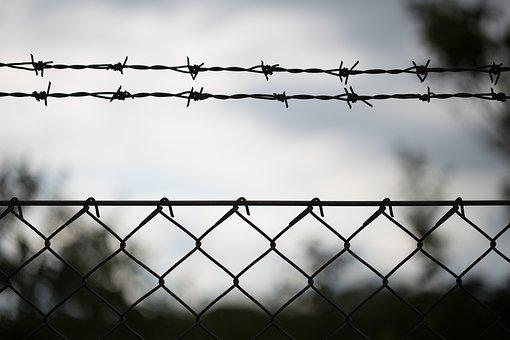 Barbwire, Protected, No Entry, Danger, Trespassing