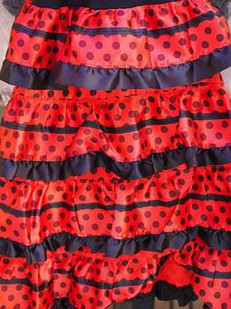 Dress, Red, Black, Fashion, Red Dress, Clothing, Sexy