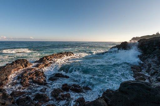 Sea, Rocks, Ocean, Sky, Seascape, Coast, Coastline