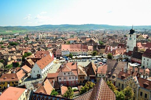 Sibiu, City, Tower, Architecture, Travel, Romania