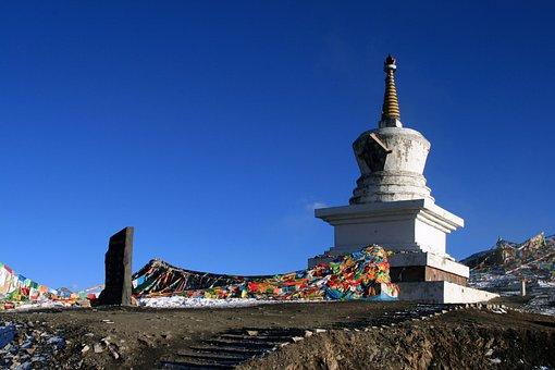 Sichuan, Wassily Kandinsky, Mountainous Fold