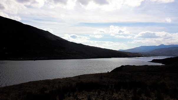 Achill, River, Slope