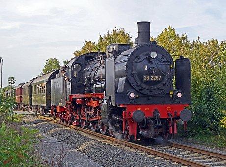 Steam Locomotive, Steam Train, Special Train