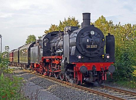 Steam Locomotive, Steam Train, Special Train
