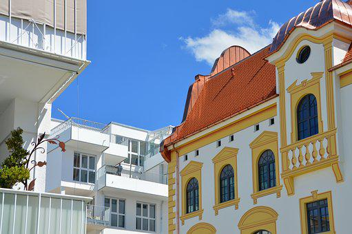 Kempten, Brewhouse, Architecture, Tower House, Glass