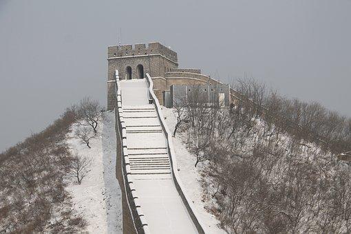 China, The Great Wall Of China, Badaling Great Wall