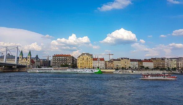 Body Of Water, City, Panorama-like, Travel, Cityscape